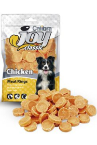 Calibra Joy Dog Classic Chicken Rings 80 g NEW