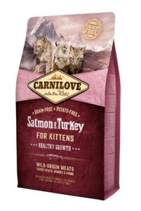 Carnilove Cat Salmon & Turkey for Kittens Healthy Growth 2 kg