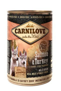 Carnilove Wild konz Meat Salmon & Turkey 400 g