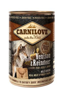 Carnilove Wild konz Meat Salmon & Turkey Puppies 400 g