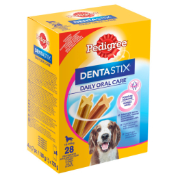 Pedigree Pochoutka Denta Stix Medium 28ks 720g