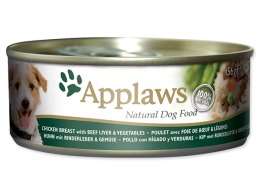 Applaws Dog Chicken, Beef, Liver & Vegetables 156 g
