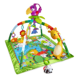 Fisher Price Rainforest Deluxe Hrací dečka