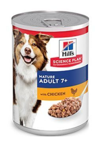 Hill's Science Plan Canine konz. Mature Adult Chicken 370 g
