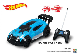 Nikko RC Hot Wheels 4WD Modrá