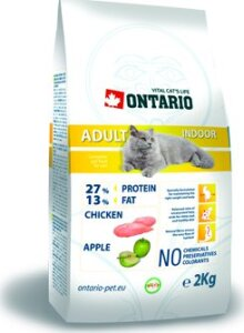 ONTARIO Cat Adult Indoor 0,4 kg