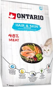 ONTARIO Cat Hair & Skin 2 kg
