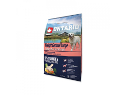 ONTARIO Dog Large Weight Control Turkey & Potatoes & Herbs 2,25 kg