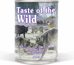 Taste of the Wild Sierra Mountain Can Dog 390 g