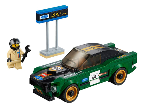 Lego Speed Champions 75884 Ford Mustang Fastback 1968