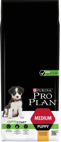 PURINA PRO PLAN Medium Puppy OPTISTART s kuřetem 12 kg