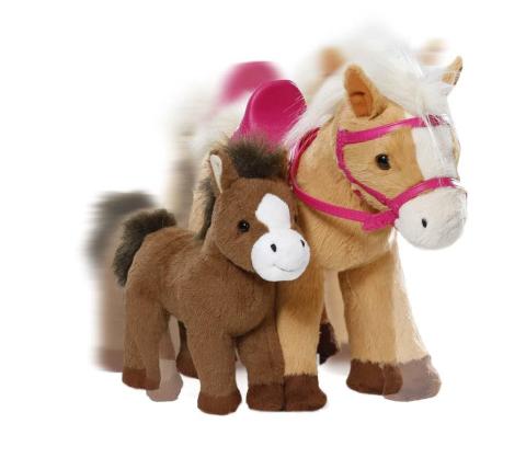 Zapf 822371 Baby Born Interaktivní kůň s hříbátkem