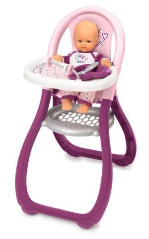 Smoby Jídelní židlička pro panenku Baby Nurse
