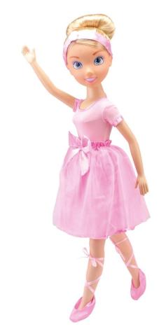 Alltoys Bambolína Princezna 80 cm s doplňky a šaty pro holčičku Bambolína