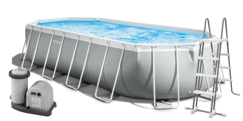 Intex Prism Frame 610 x 305 x 122 cm 26798NP oválný bazén