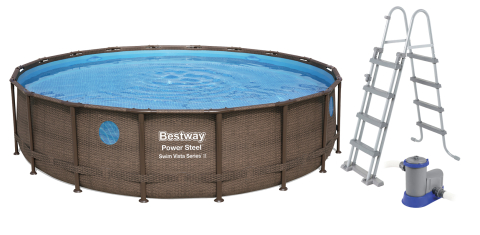 Bazén Bestway Power Steel Vista 5,49 x 1,22 m 56977