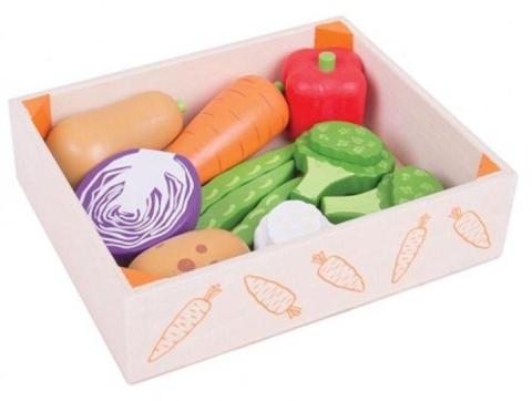 Bigjigs Krabička se zeleninou