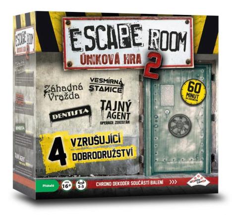 ADC Blackfire Escape Room: Úniková hra 2
