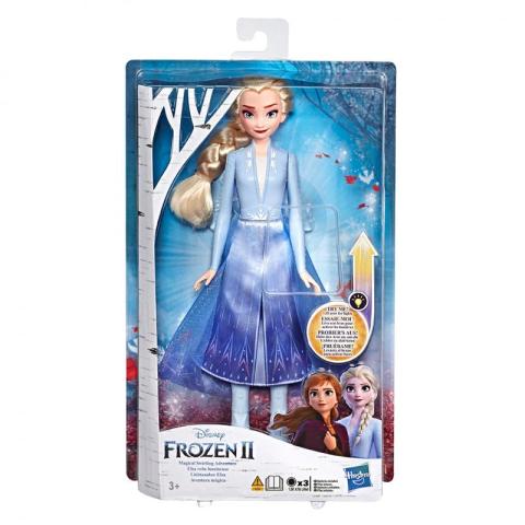 Hasbro Frozen 2 Svítící panenka Elsa
