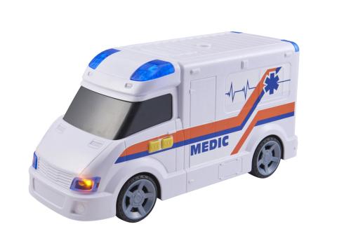 Halsall Teamsterz ambulance se zvukem a světlem 1416848HAL