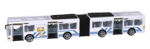Halsall Teamsterz autobus se světlem a zvukem bílý