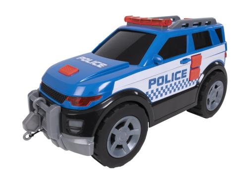 Halsall Teamsterz policejní auto 4x4 se zvukem a světlem 1416843HAL