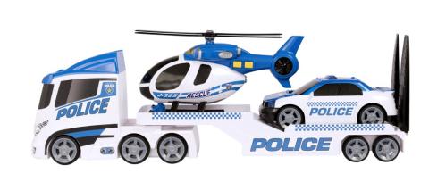 Halsall Teamsterz policejní přeprava helikoptéry se zvukem a světlem 1416898HAL