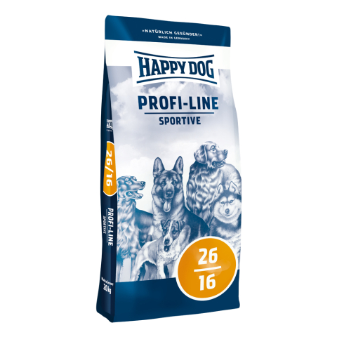Happy Dog Profi Line Krokette 26/16 Sportive 20 kg