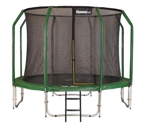 Trampolína Hawaj 305 cm + vnitřní ochranná sít + schůdky zdarma