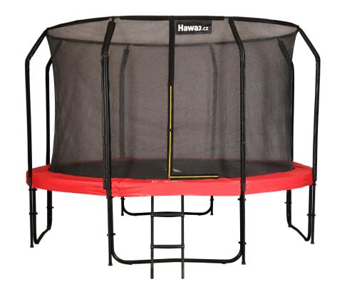 Trampolína Hawaj Premium 427 cm + vnitřní ochranná sít + schůdky zdarma