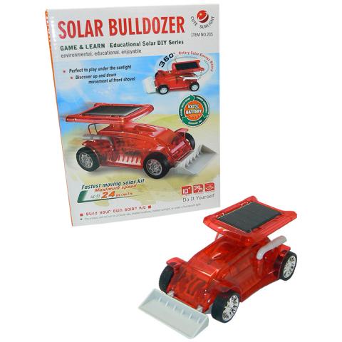 HM Studio Solární buldozer
