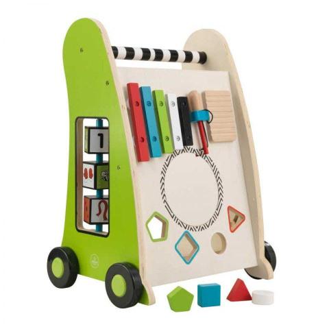 Kidkraft dřevěné hrací chodítko