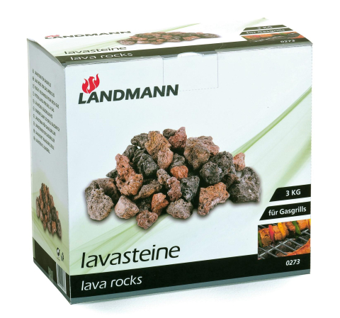 Landmann Landmann lávové kameny 3 kg 0273 0273 Landmann