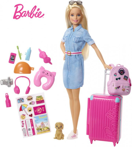 Mattel Barbie Cestovatelka