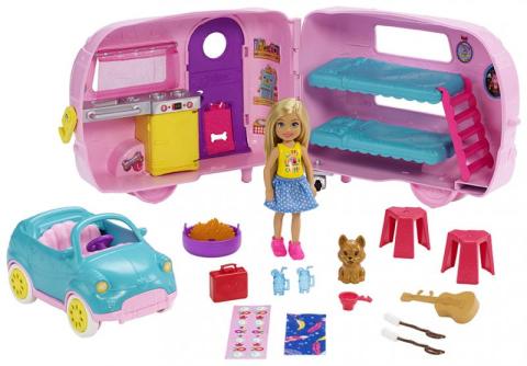 Barbie Mattel Chelsea karavan