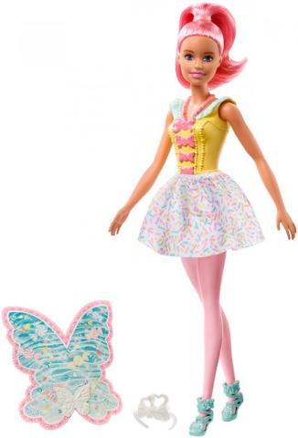 Mattel BRB Panenka Barbie víla kouzelná Dreamtopia set s doplňky
