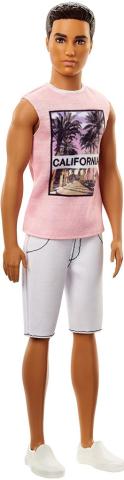 Mattel Barbie model ken   růžové tričko 25DWK44