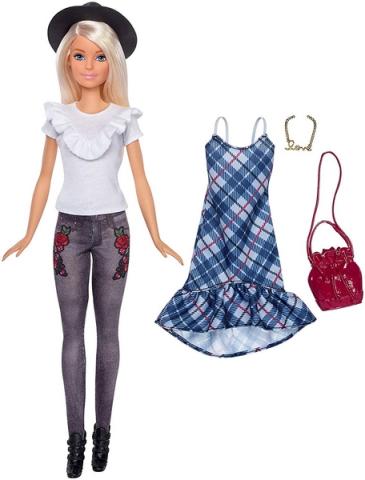 Mattel Barbie Modelka s oblečky a doplňky 83