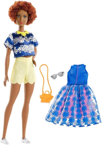 Mattel Barbie modelka s doplňky a oblečky 100