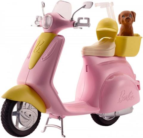 Mattel Barbie skútr