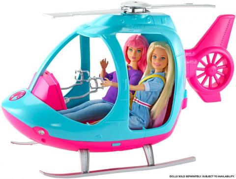 Barbie MATTEL Vrtulník s příslušenstvím