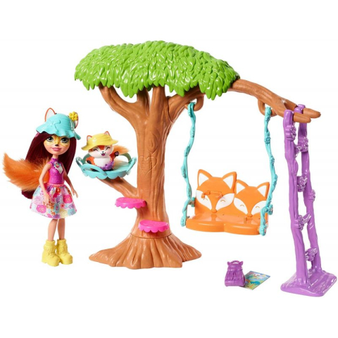 Mattel ENCHANTIMALS Domácí pohoda Hřiště
