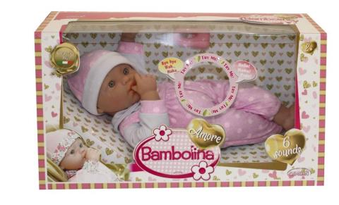 Alltoys Miminko Bambolina Amore 36 cm