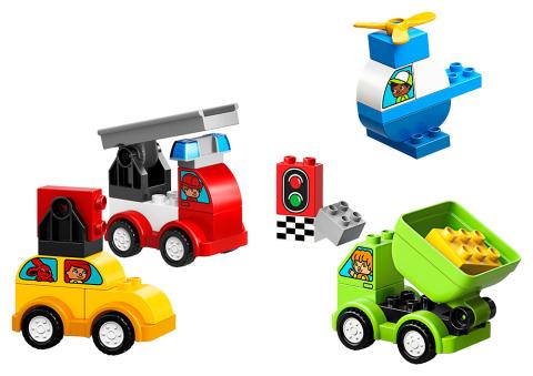 LEGO DUPLO 10886 Moje první vozidla Lego
