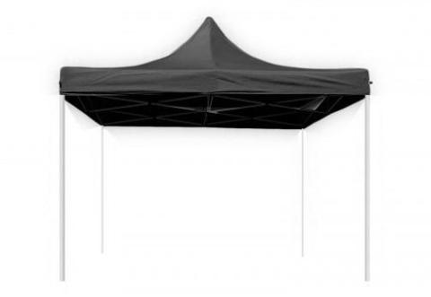 Hawaj Nůžkový stan 3x3 m bez bočnic černý