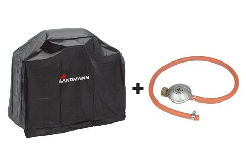 Landmann Quality ochranný obal na gril L a připojovací sada