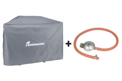 Landmann Premium ochranný obal na gril XL a připojovací sada