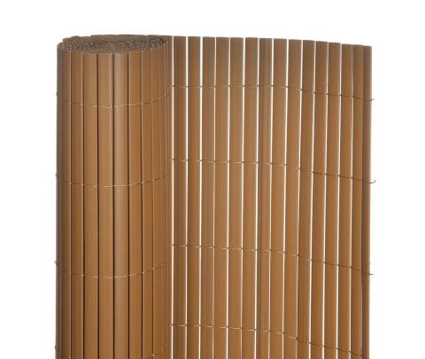 Plot z umělého bambusu BAMBUS TEAK, role výška 1,5m, šířka 3m, 4,5m2