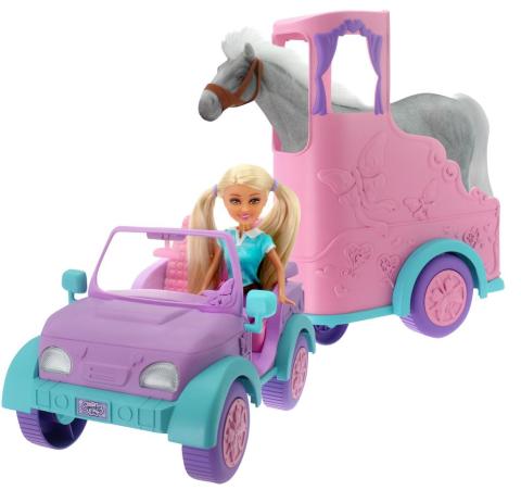Alltoys Funville Přívěs pro koně Sparkle Girlz