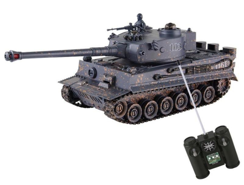 HM Studio RC Tiger Tank 1:28